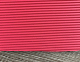 Straight Stripe Red Rubber Conveyor Belt 3.2mm
