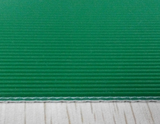 Straight Stripe Green PVC Conveyor Belt 3.0mm