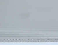 Straight Stripe Gray PVC Conveyor Belt 3.0mm