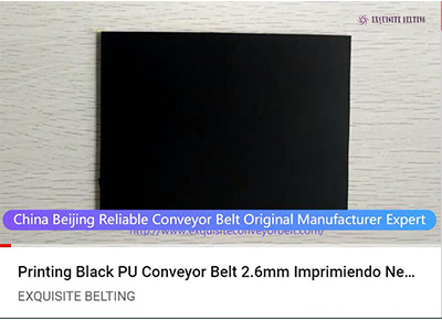 Printing Black PU Conveyor Belt 2.6mm.jpg