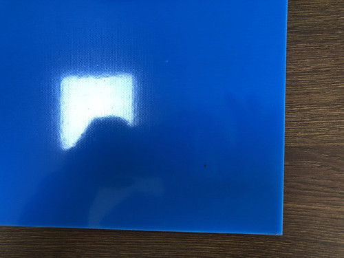 Blue PVC Conveyor Belt Thickness 2.0mm