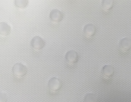 Round Stud Transparent PE Conveyor Belt 5.3mm